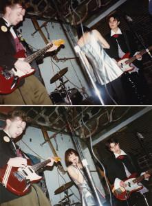 Nilla performing at The Gas Station Dec '94